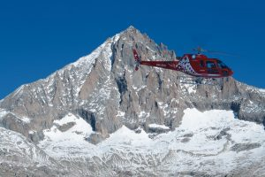 Air Zermatt helicopter