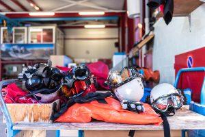 Rescue flights with Air Zermatt