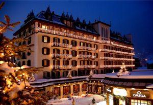 Hotel Mont Cervin Palace in Zermatt