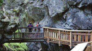 Gornerschlucht Zermatt Ausflugsziel für Familien