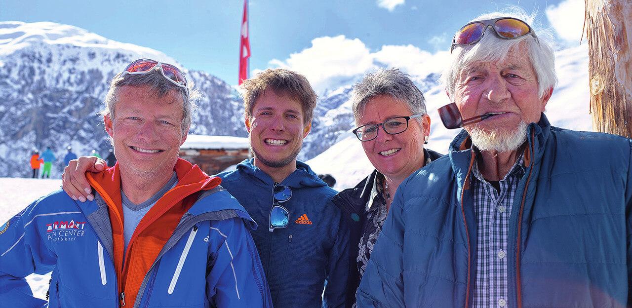 Hotel Silvana Zermatt Familie Biner