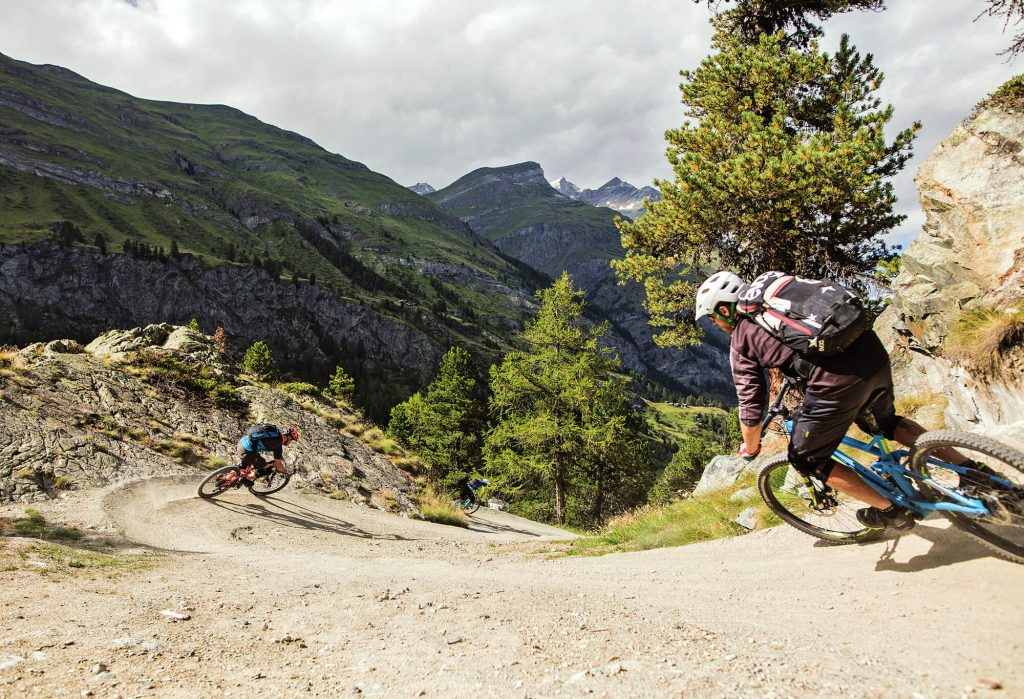 Mountainbike Trails in Zermatt