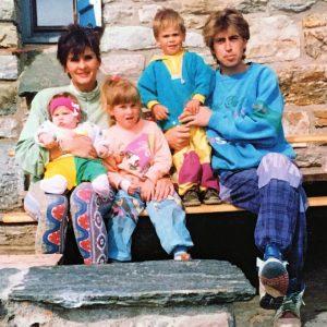 Familie Lerjen Taeschhuette Zermatt