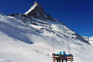 Die Matterhorn Nordwand, Zermatt