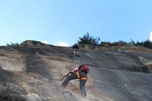 Klettersteig in Zermatt: schwindelfrei klettern