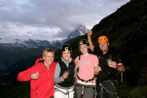 Klettersteig in Zermatt - Abstieg nach Zermatt folgt