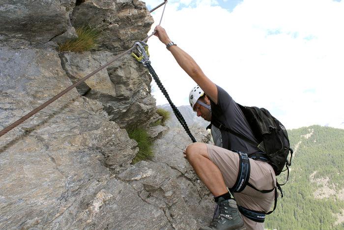 Klettersteig Zermatt : Klettersteig mammut zermatt tour