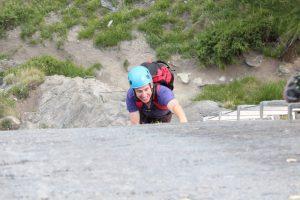 Klettersteig Schweifinen in Zermatt: Ausdauer ist gefragt
