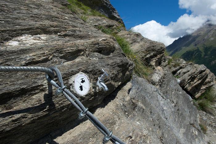 Klettersteig Zermatt : Gipfelbuch verhältnisse mammut klettersteig