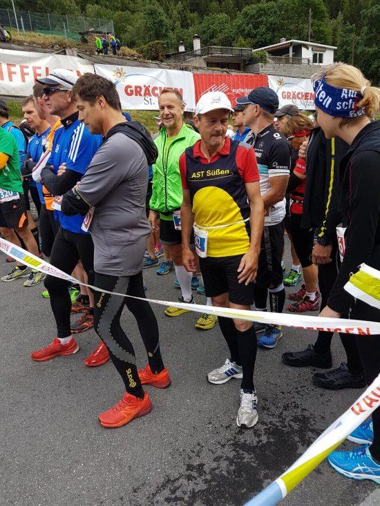 Start des Zermatt Marathons (c) Julia Gesswein