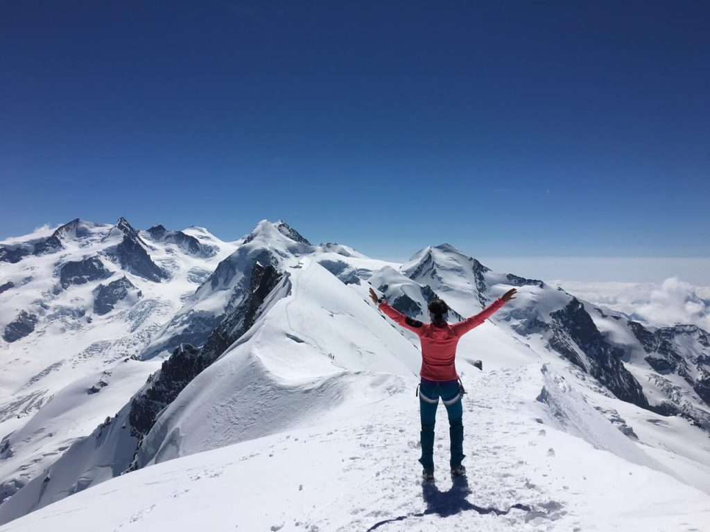 Breithorn Zermatt - Gipfelsieg auf Viertausender