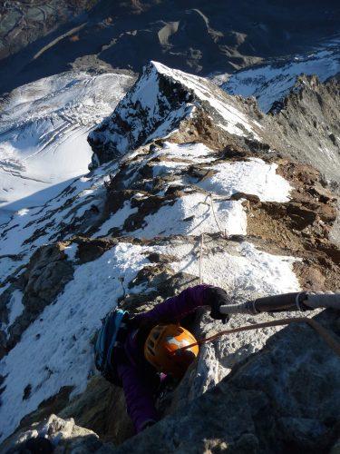 Bergsteigen am Matterhorn - Besteigung Matterhorn