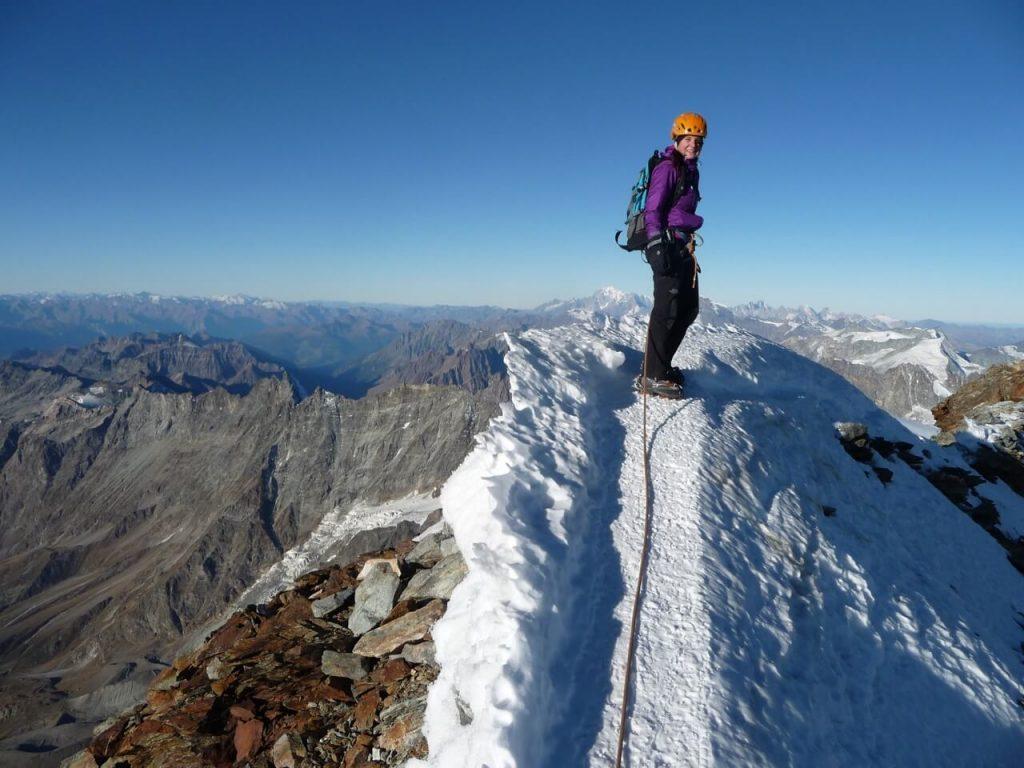 Besteigung Matterhorn in Zermatt mit Bergführer - Gipfelsieg