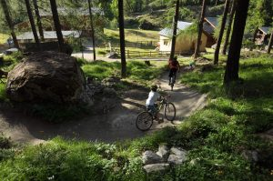 Mountainbiken in Zermatt am Moos Trail