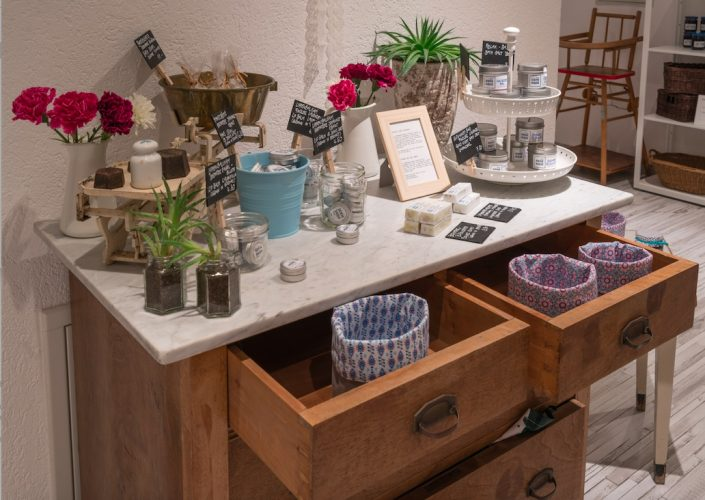 Selbst hergestellte Produkte (c) Homemade Café & Shop Zermatt