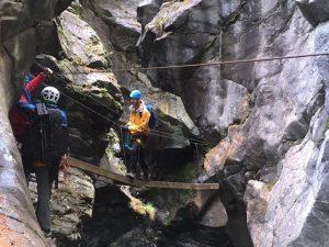 Klettersteig Zermatt Gornerschlucht