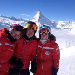 Ski school Zermatt with its ski instructors