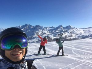 Ski lessons with ski school Zermatt