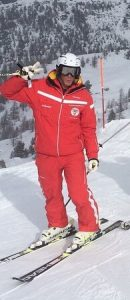 Ski instructor in Zermatt Liam Hutchinson