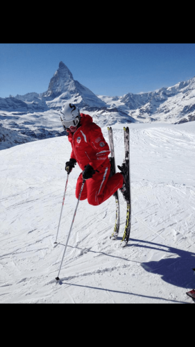 Ski instructor at Ski school Zermatt Liam Hutchinson