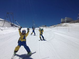 Summer ski school Zermatt