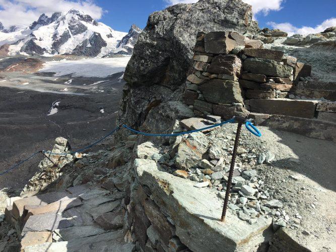 Starting point Hörnlihütte to the Matterhorn