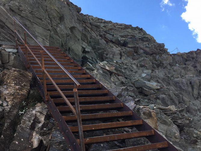 Ascent of the Matterhorns via Schwarzsee