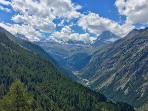 Wanderung Europaweg von Zermatt nach Randa