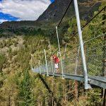 Wanderung zur neuen Hängebrücke bei Randa