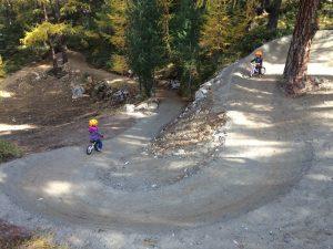 Mountainbike Trail in Zermatt