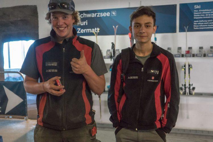 Lehre bei den Zermatter Bergbahnen