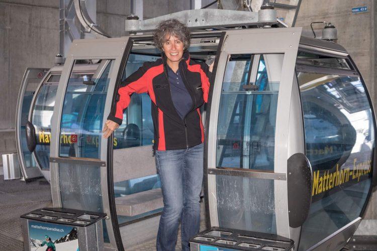 Zermatter Bergbahnen Angestellte Monika