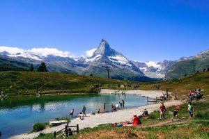Leisee en Zermatt, un lugar para toda la familia