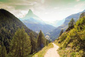 El cervino Matterhorn de 4478 m