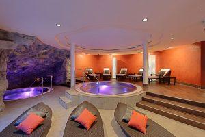 Wellness Bereich in einem Hotel in Zermatt