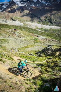 Mountainbiken in Zermatt auf Flowtrails