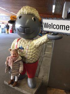 Vacances de famille avec Wolli le mouton
