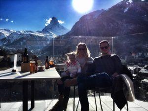 Le restaurant Schönegg en Zermatt