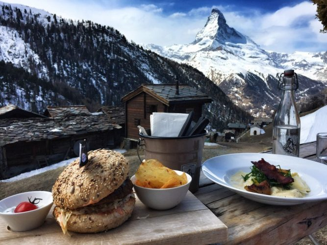Dejeuner a Restaurantchez vrony