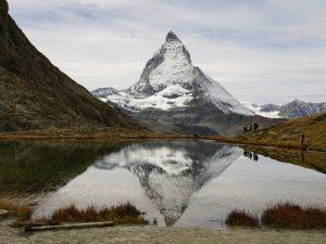 Matterhorn Spiegelbild im Riffelsee