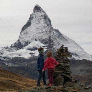 Wandern mit Kindern in Zermatt am Riffelseeweg