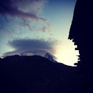 Event Horugüet in Zermatt - Kulinarik Wanderung mit Aussicht auf das Matterhorn