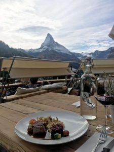 Horugüet Wanderung in Zermatt - Kulinarik Event