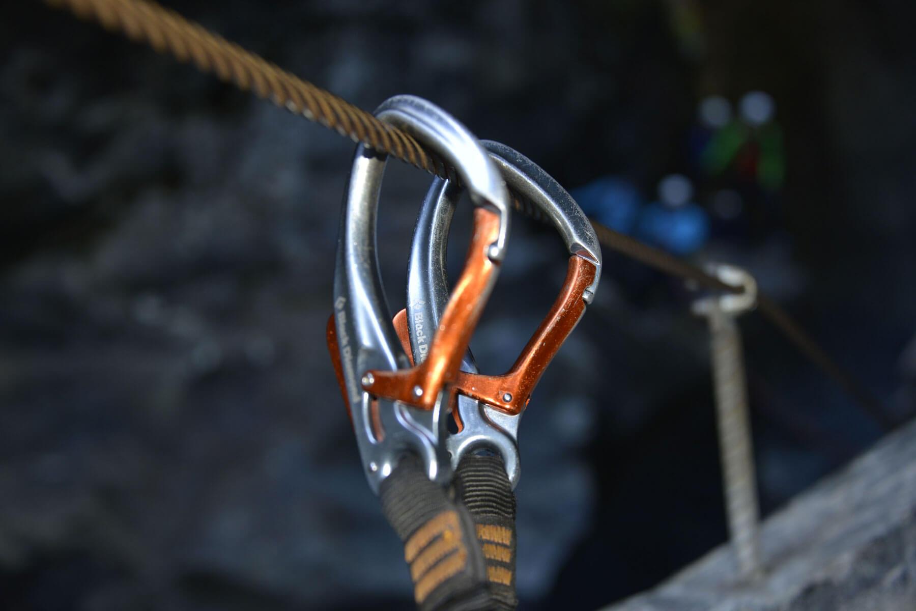 Kletterausrüstung Zermatt : Die gornerschlucht der etwas andere klettersteig in zermatt