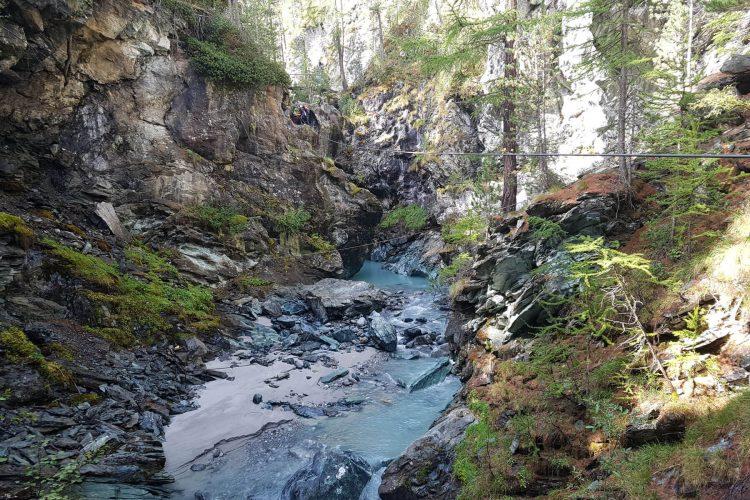 Ausflugsziel Gornerschlucht in Zermatt
