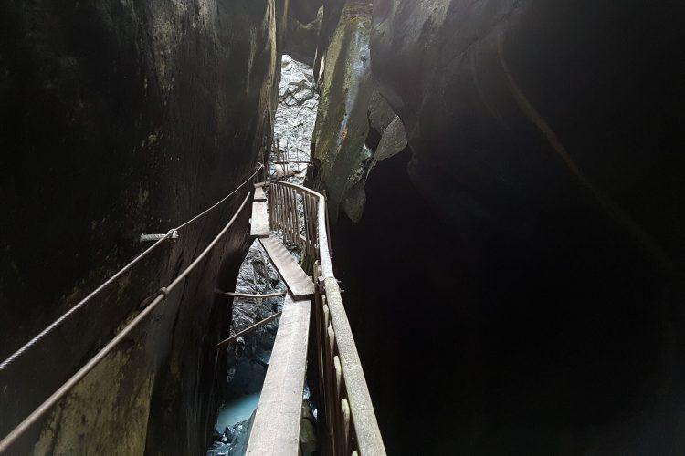 Klettersteig Gornerschlucht in Zermatt