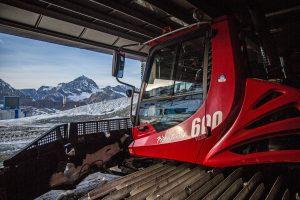 Pistenpräparierung in Zermatt