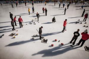 Curling Event Horu Trophy in Zermatt