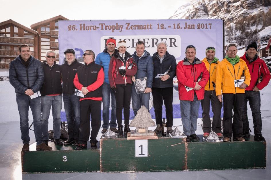 Horu Trophy Curling Veranstaltung Zermatt