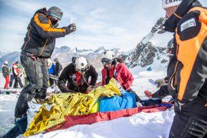 Einsatz Pistenrettung Zermatt